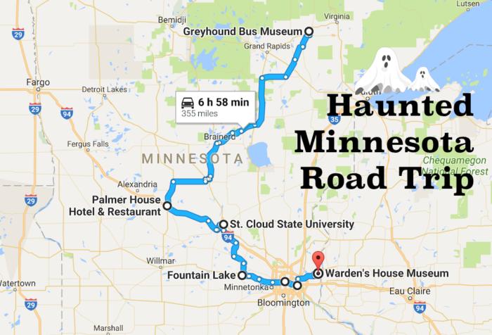 Haunted Minnesota Road Trip