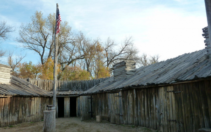 Fort Mandan, sporting fall colors in this image, is an awesome place to visit as well.