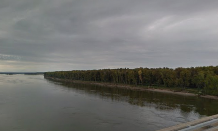 Early signs of fall are easily seen along the Missouri River in North Dakota.