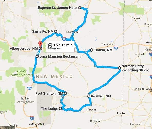 Maps Multiple Stops >> This Road Trip Takes You To The Scariest Haunted Places in ...