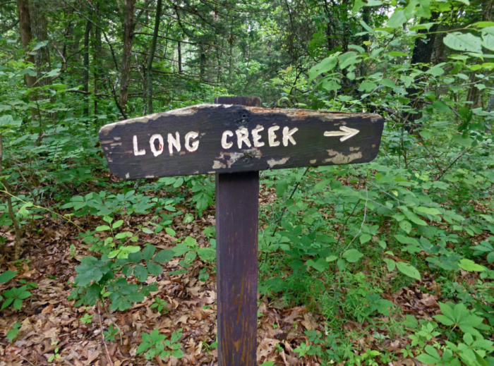 Start by taking the Long Creek trail to access the center of the wilderness area, where you'll find Missouri's most remote spot.