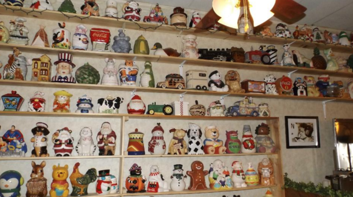 It's fun to look through the lines of cookie jars and see just how odd some of those shapes are. Who would have thought that lighthouse-shaped cookie jars exist?