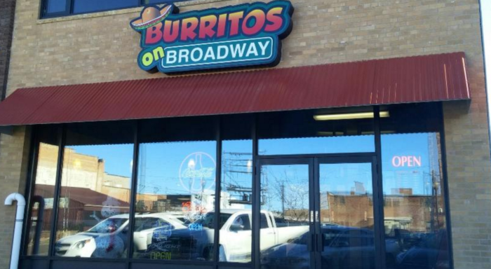 10. Burritos on Broadway - Watertown