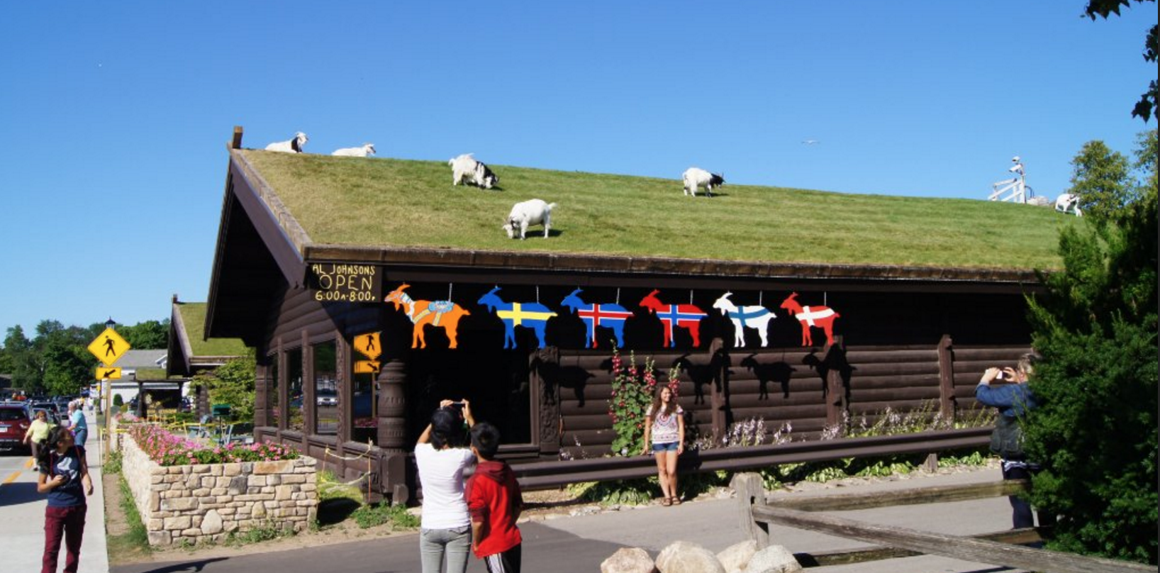 This Quirky Wisconsin Restaurant Has Goats That Eat The Roof