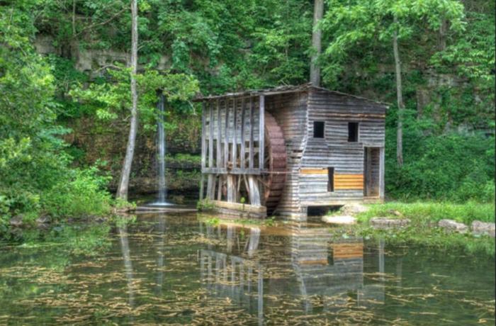 Falling Springs Mill - Winona