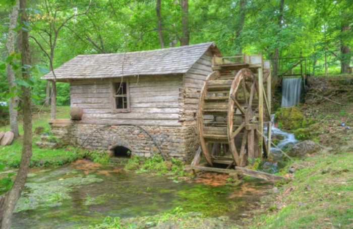 Reed Springs Mill - Center