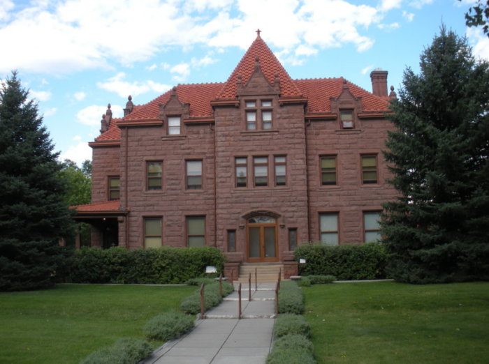 1. Haunted House at the Moss Mansion, 914 Division Street, Billings