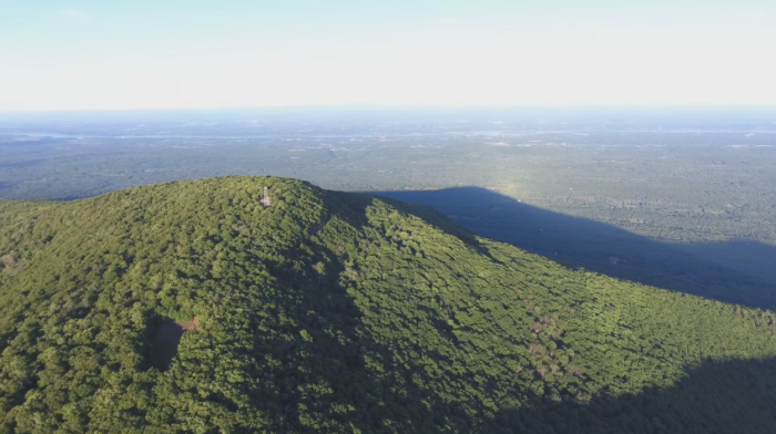 A 5-mile out and back hike that will blow your mind before you even reach the summit, Overlook Mountain has a trail you'll want to take.