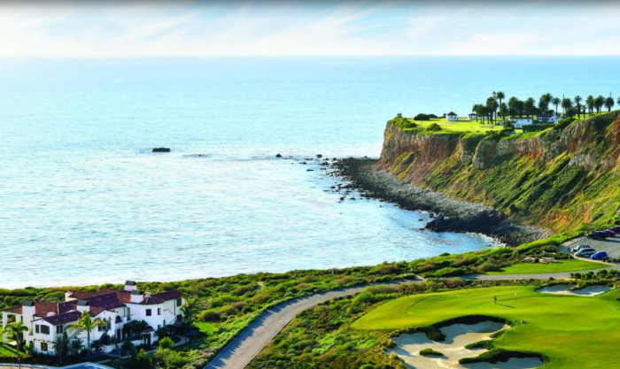 The golf lovers out there will be blown away by The Links Golf at Terranea Resort. Even if you don't play golf, it's impossible not to appreciate the beauty of this course.