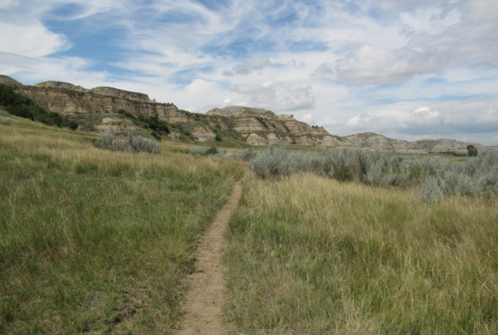 ...or the rolling prairies below. And if you follow the trail, you'll run into  many fun stops along the way.