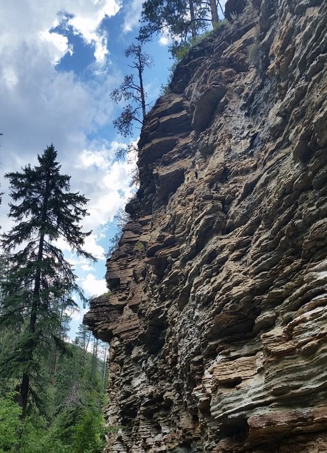 It is a truly beautiful spot among Spearfish Canyon - and an easy hike, too.