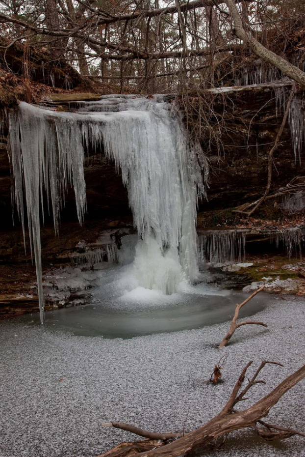 If you're okay with hiking in the cold, the falls are pretty cool to see in the winter, when they have frozen into icicles.