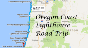 This Lighthouse Road Trip On The Oregon Coast Is Dreamily Beautiful