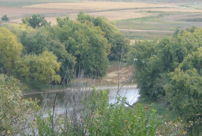 It includes 588 acres of dense forests along the Big Sioux River.