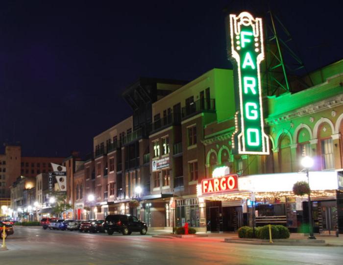 3. Downtown Fargo