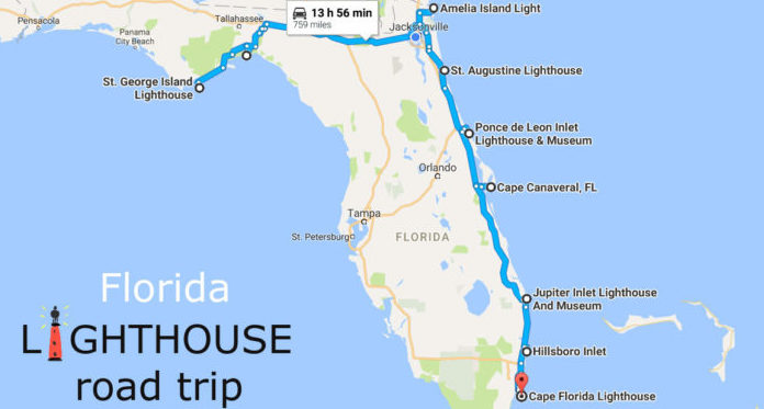 Everyone Should Take This Florida Lighthouse Road Trip