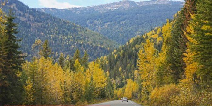 6. Idaho Selkirk Loop
