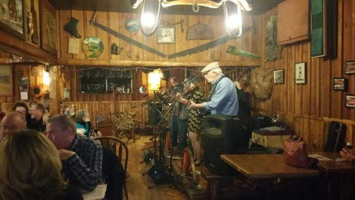 But what really keeps folks coming back is the lively community atmosphere of live music, backyard games, deck dining, and small-town community.