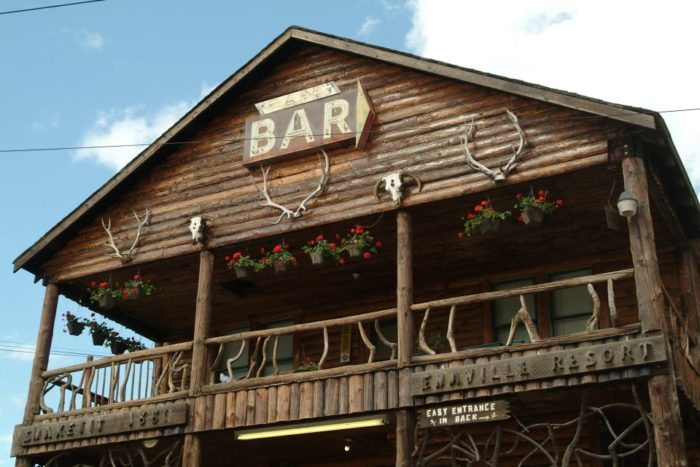 Dating all the way back to 1880 when loggers and miners flooded the Silver Valley, one could walk into this rustic treasure and see rowdy, famished diners packed three-deep.