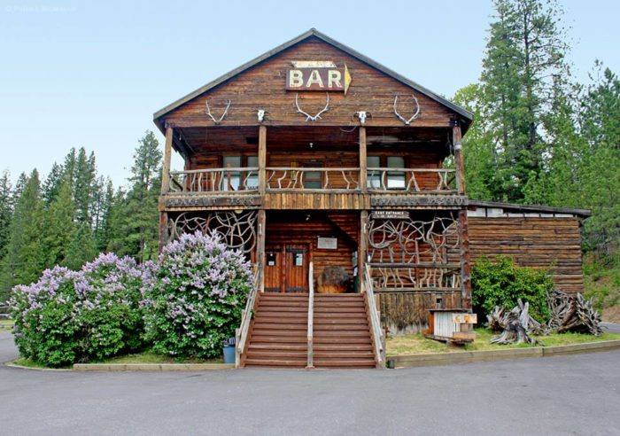 Tucked away on Coeur d'Alene River Rd. in Kingston, this historic restaurant has a truly unique location and history.