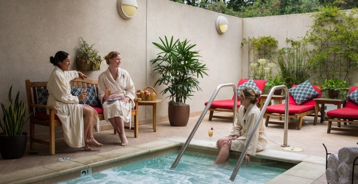 Take a break from the hustle and bustle of San Francisco with some peace and quiet at The Spa at Silverado.
