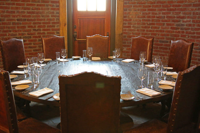 If you'd rather have a more private dining experience at SpringHouse, they've got you covered.