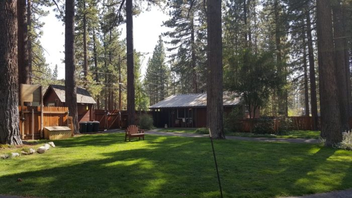 1. Spruce Grove Cabins: South Lake Tahoe