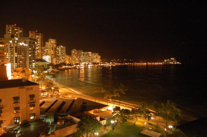 5. Staying in Waikiki.