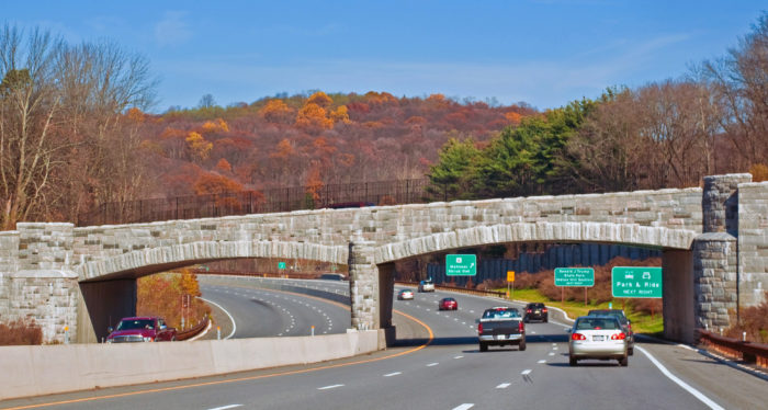 One of the most common causes of accidents on the parkway is created by travelers who end up traveling on the wrong side of the road.