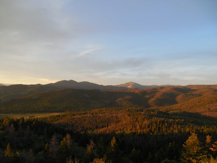 Sunrise over the Continental Divide-14414040157