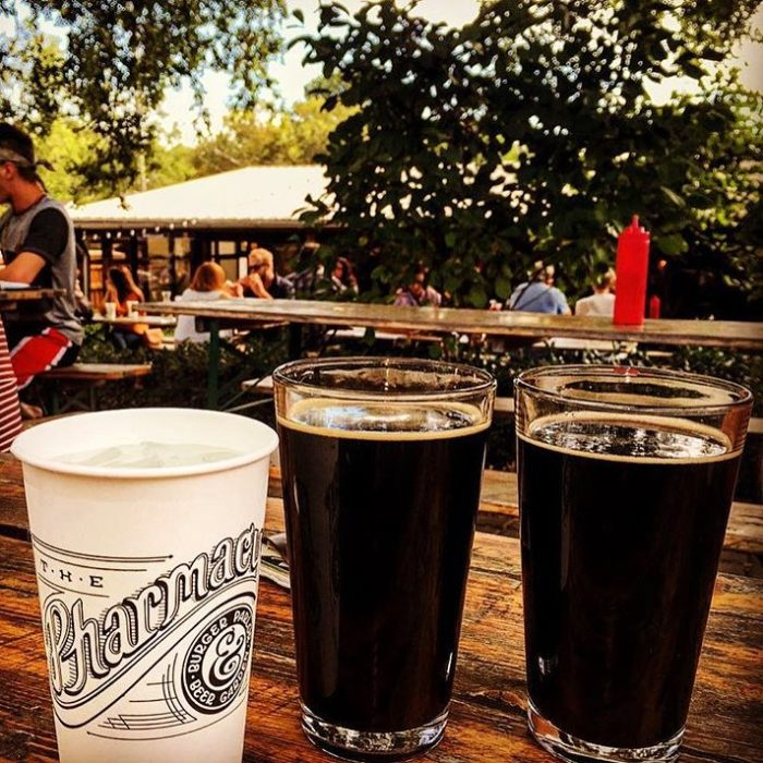 11 magical outdoor restaurants in nashville for The pharmacy burger parlor beer garden