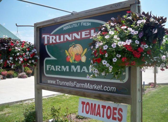 10. Trunnell's Farm Market, Utica