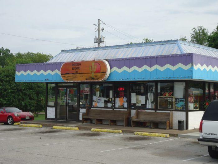 4. Bandito Burrito Co. - Huntsville