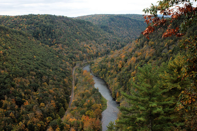 Of course, no autumn trip to Wellsboro would be complete without a trip to nearby Pine Creek Gorge - popularly known as the Grand Canyon of Pennsylvania. Drive to nearby Colton Point State Park or Leonard Harrison State Park for gorgeous views of the canyon from scenic overlooks.