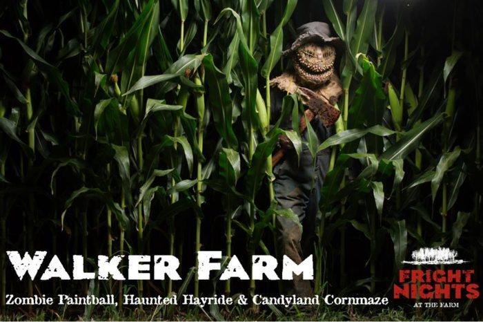 2. Candyland Corn Maze, Fright Nights at Walker Farm, Lexington