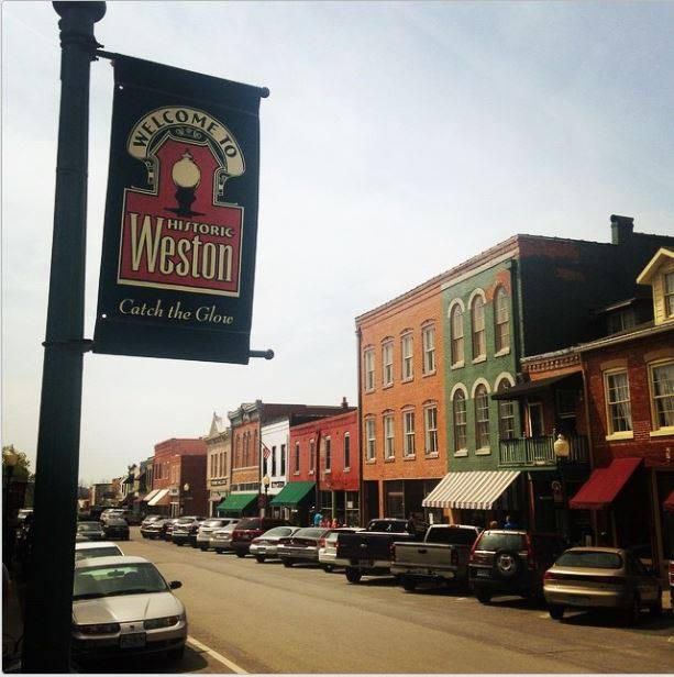Shop the Historic Main Street in downtown Weston.