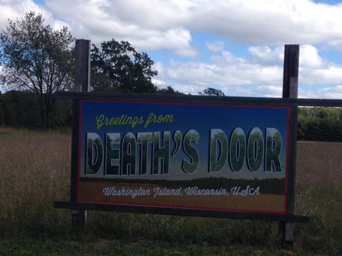 "Located at the top of Door County, Washington Island is called ""Death's Door,"" referring to the choppy waters up here that resulted in many sailors perishing."