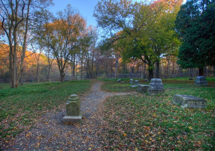 3. Bachelor's Grove Cemetery