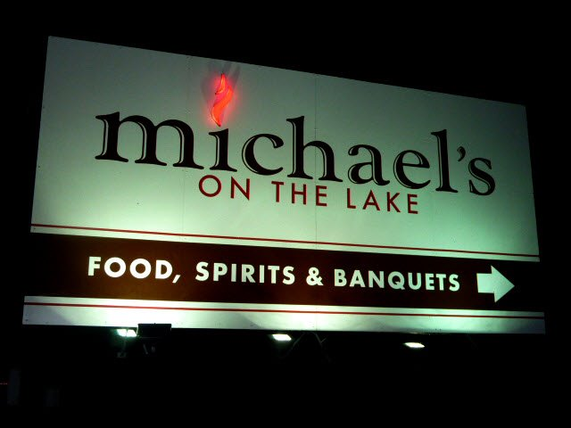 This restaurant is located in Kansasville, an unincorporated community in Wisconsin with a population of around 3,000 people.