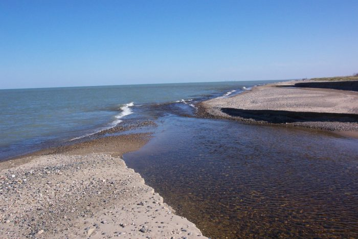 The mouth of the Dead River is in the Illinois Beach State Park.