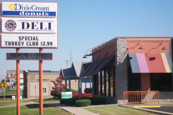 6. Dixie Cream Donuts