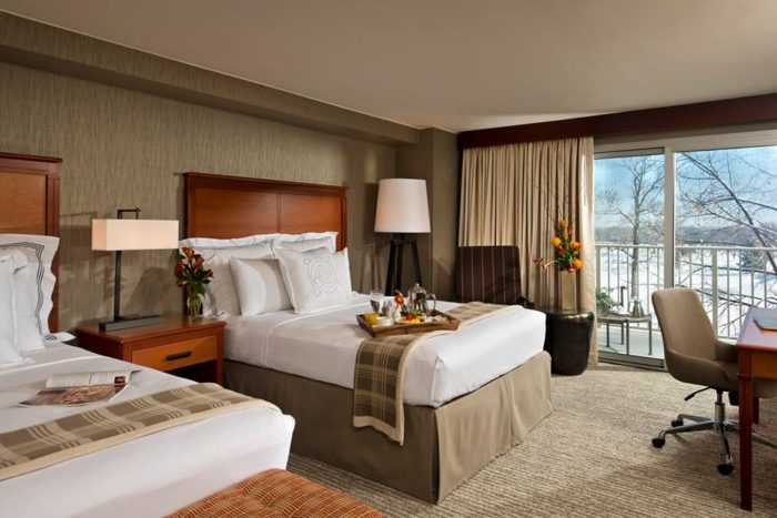 Each room is beautifully appointed, with only the best linens and amenities.