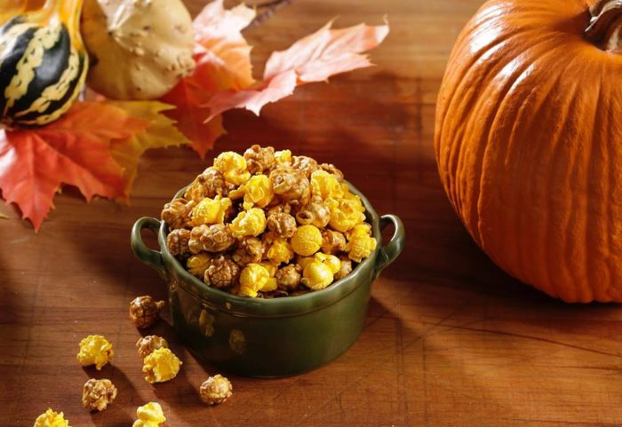 6. Popcorn was meant to be enjoyed as a caramel and cheese mix.