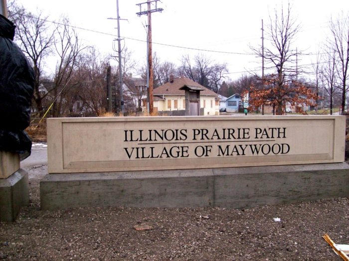 The Illinois Prairie Path has been around since 1963.
