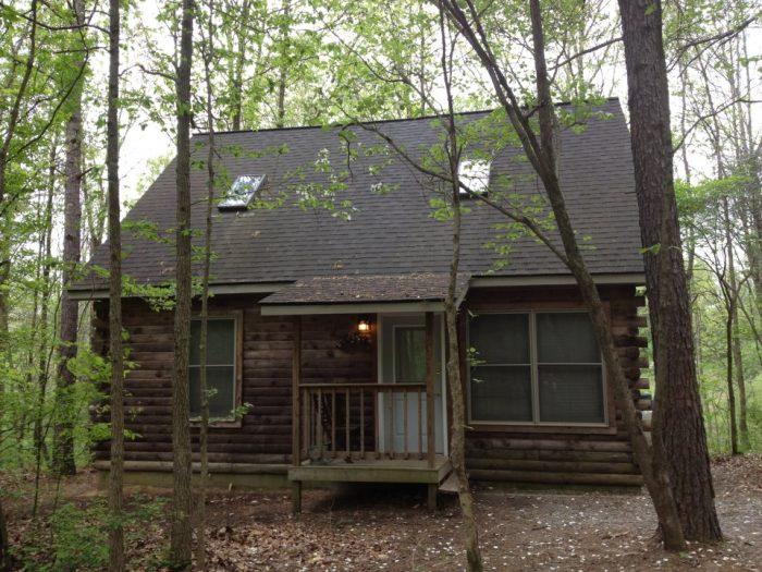 8. Rustic Hideaway Cabins