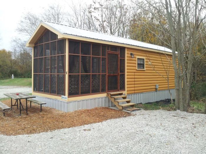10. The Cabins at Shale Lake