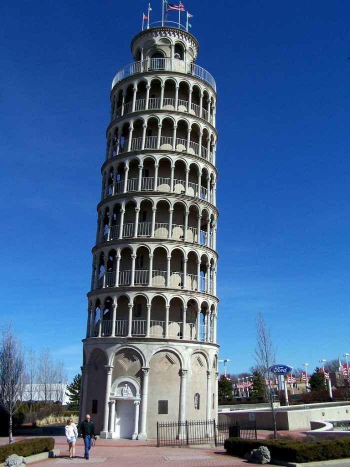 2. Leaning Tower of Niles