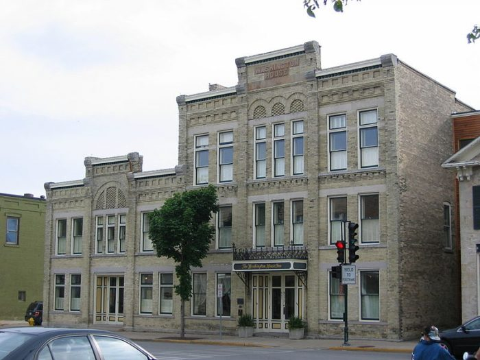 This charming downtown has some of the best old buildings in the state, and they look particularly great during autumn.