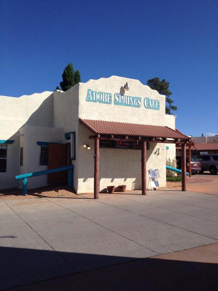 9. Adobe Springs Café, 1617 Silver Heights Boulevard, Silver City