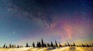 This Timelapse Footage Of The Milky Way In Alaska Is Positively Mesmerizing